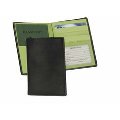 Royce Leather Passport Currency Wallet - Black/Key Lime Green - Travel... ($47) ❤ liked on Polyvore featuring bags, green, travel accessories, travel wallets, checked bag, royce leather, lime green paper bags, checkered bag and paper bag