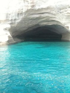 The cave of pirates in Kemer, Antalya, Turkey. How much bluer can the ocean get?! Not much.