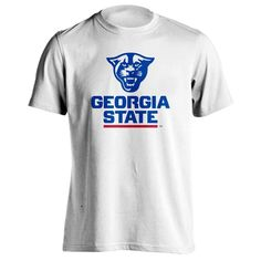 Georgia State University Panthers Head Athletic Wordmark Short Sleeve T-Shirt