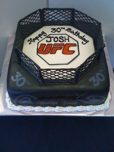 UFC cake for chidos 21st birthday!!
