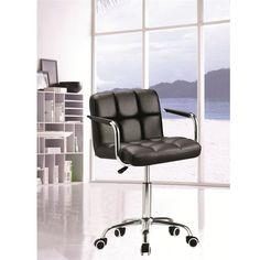 The Timeless Office Chair offers unique design and comfort all in one package, making it a must-have for your contemporary office. Office Chair looks great in the modern office or home based workstation. This contemporary chair is perfect for any office e