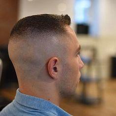 Haircuts For Balding Men, Military Haircuts Men, Hot Haircuts, Slick Hairstyles, Short Fade Haircut, High And Tight Haircut, Flat Top Haircut, Beard Images, Gents Hair Style