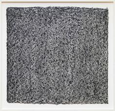 Richard Serra, Ramble 4–26, 2015. Litho crayon and pastel powder on paper, 35 1/2 × 36 3/4 inches unframed (90.2 × 93.3 cm). ©Richard Serra. Photo by Rob McKeever. Courtesy Gagosian Gallery.