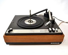 Telefunken Tw 560 Cabinet Turntable With Record Changer