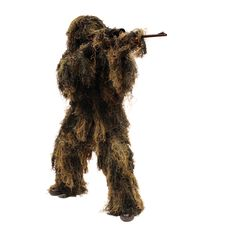 5-Piece Adult Camo Ghillie Suit - Camouflage - Red Rock Outdoor Gear