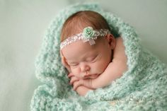 Ready to Ship Newborn Tieback and Pearl Bracelet by verityisabelle, £13.50