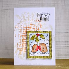 shirley-bee's stamping stuff: Guest Designer for Time Out