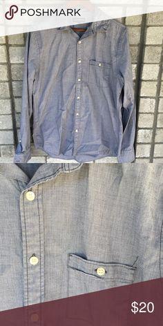 Express long sleeve button up shirt Express Long Sleeve Button Up Shirt size 15-15 1/2 Express Shirts Casual Button Down Shirts