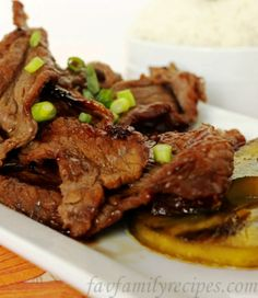 The Bestest Recipes Online: Hawaiian Beef Teriyaki