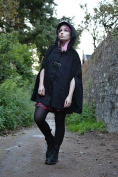 Little Black Riding Hood & The Dr Martens | OOTD