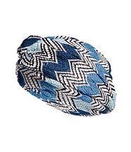 Zigzag Knit Turban