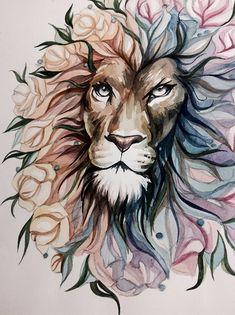Lion on Behance