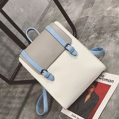 Leftside Leather Ladies Luxury Belt Backpack