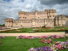 Castelo de Coca, Segovia - Espanha