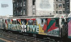 Subway Graffiti in New York City
