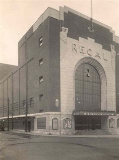 Photo:Photograph of the Regal Cinema, 1938 Norwich Norfolk, Great Yarmouth, Seaside Resort, Uk Photos, Palaces, Paths, Old Things, Louvre, Art Deco