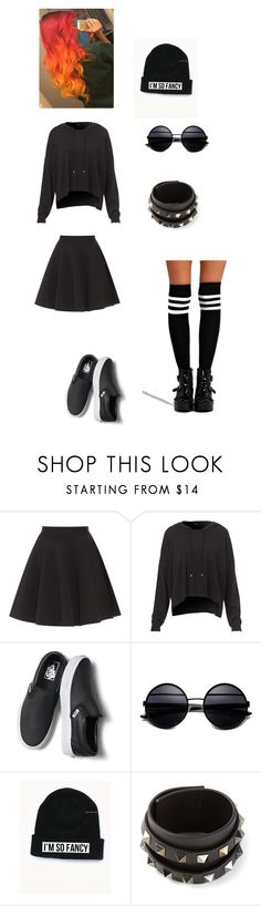 """""""Simple"""" by athenalizzou on Polyvore featuring TWISTY PARALLEL UNIVERSE, Vans, Valentino, Boohoo, women's clothing, women, female, woman, misses and juniors"""