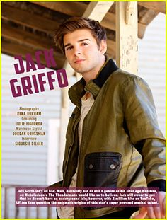 Jack Griffo is nothing short of adorable in this new feature for the March/April 2015 issue of LVLten magazine, available ...
