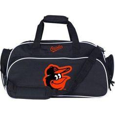 MLB Baltimore Orioles Stymie Duffel Bag, Black