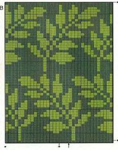 Triforce-iltalaukku pattern by Molla Mills Tapestry Crochet Patterns, Fair Isle Knitting Patterns, Knitting Stiches, Knitting Charts, Motif Fair Isle, Fair Isle Chart, Fair Isle Pattern, Mochila Crochet, Crochet Leaves
