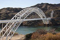 Old Trail Rt. 66 Bridge (Topock, Arizona)