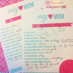 mothers day printable instagram photo laura winslow