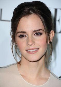model Emma watson shaved eyebrows