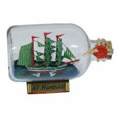 Maritmes Flaschenschiff Alexander von Humboldt als schöne Geschenkidee und für Sammler.   KEINE VERSANDKOSTEN INNERHALB DEUTSCHLANDS!!