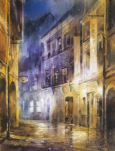 林經哲 / Lin, Ching-Che Watercolor