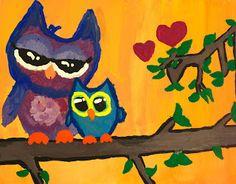 Jenna Leopold's owls.