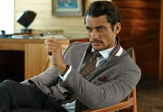 David Gandy Heads to San Francisco for Marks & Spencer Fall/Winter 2014 Campaign image gandy ms 003