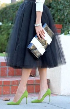 50 Awesome Looks with Tulle Skirt - Rehearsal Dinner Looks