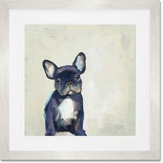 You'll love the Best Friend - Frenchie Pup Framed Painting Print at Joss & Main - With Great Deals on all products and Free Shipping on most stuff, even the big stuff.