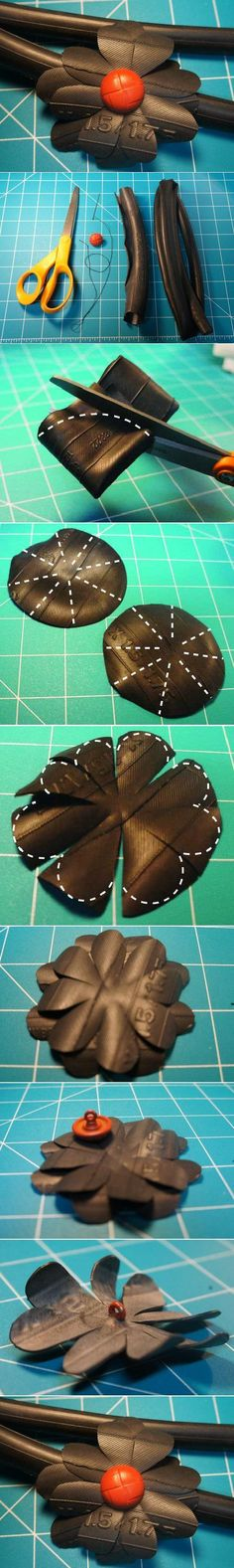 DIY Rubber Tire Flower DIY Projects