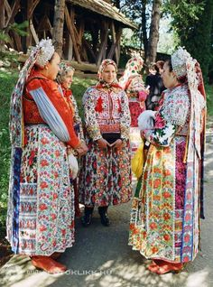 Magyarvista Folk Costume, Costumes, Folklore, Folk Clothing, Hungarian Embroidery, Folk Dance, People Of The World, Embroidery Techniques, Chain Stitch