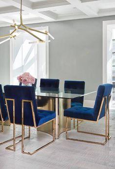 Jonathan Adler Goldfinger Dining Chairs