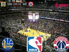 NBA 2016/17: Golden State Warriors 108-112 Washington Wizards