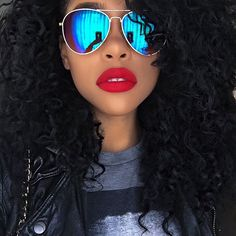 """Raye Boyce on Instagram: """"Feels so good to be back! Thank you all for the love & concern! Love y'all! ❤️ Glasses - F21 Lips - #Colourpop : Trust Me #mondayfunday #yesterday"""""""