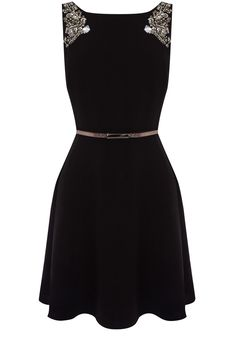 Lucia Embellished Dress / Oasis