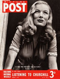 #veronica lake #vintage #picture post