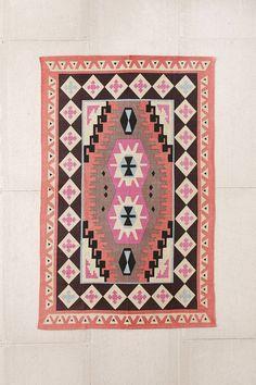 Plum & Bow Karakum Printed Rug - Urban Outfitters - for the closet? Living Room Carpet, Rugs In Living Room, Living Spaces, Carpet Runner, Rug Runner, Urban Outfitters Rug, Room Rugs, Area Rugs, Funny Welcome Mat