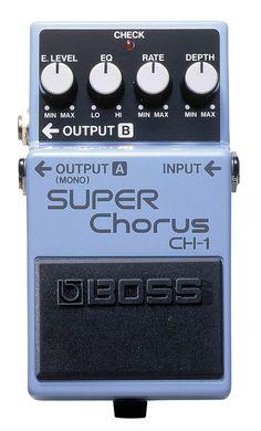 Roland/Boss Super Chorus effects pedal