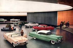 All sizes | Cadillac Showroom 1956 | Flickr - Photo Sharing!
