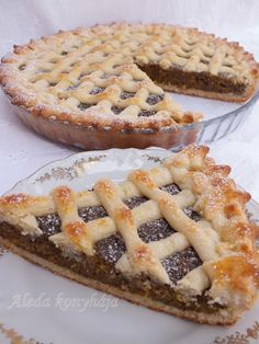 Romanian Food, Something Sweet, Apple Pie, Quiche, Tart, Food And Drink, Cookies, Recipes, Poppy