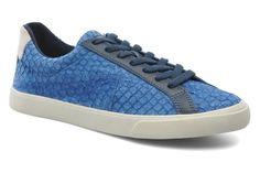 Veja Esplar Cuir W (Bleu) - Baskets chez Sarenza (221268)