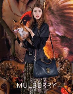 Julia Saner by Tim Walker for Mulberry, Fall 2011 #campaign