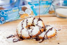 "#CheatClean Quest "" Samoa"" Girl Scout Cookies. Few words are sweeter. If you're a fan of the classic cookie, here's a healthy and delicious recipe from @Nicole Novembrino Pielou S."