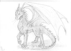 fashion sketch how to draw Cool Dragon Drawings, Dragon Sketch, Dragon Artwork, Cool Art Drawings, Animal Drawings, Drawing Sketches, Drawing Ideas, Fantasy Drawings, Fantasy Art