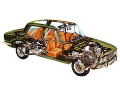 1967 Alfa Romeo 1750 The material for new cogs/casters could be cast polyamide which I (Cast polyamide) can produce