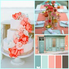 Tiffany Blue Wedding Inspiration - Pink Cupcakes and Couture